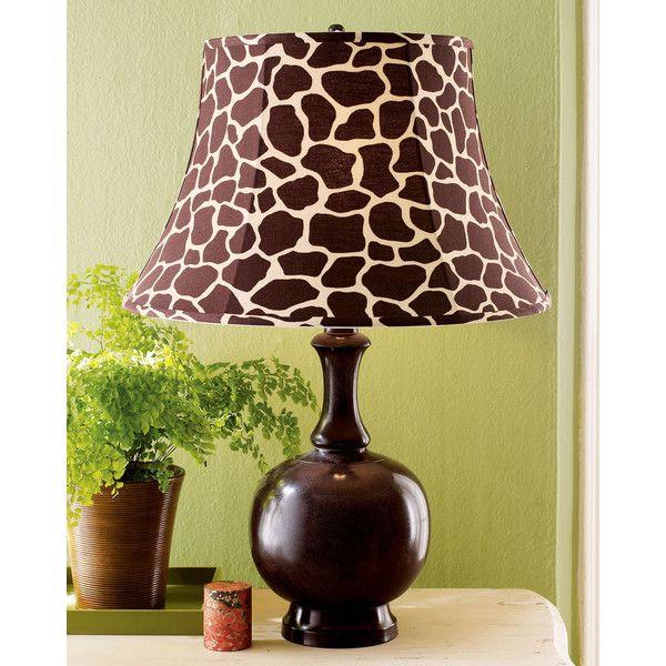 Jamie Young Company Giraffe-Print-Shade Lamp