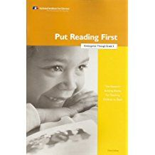 UNDERSTANDING:  Chapter 3 of Put Reading First (PFR) looks at fluency instruction. The chapter describes what fluency looks like and what research says about fluency instruction. In particular, the article suggests that repeated monitored oral reading can improve fluency and overall reading achievement.