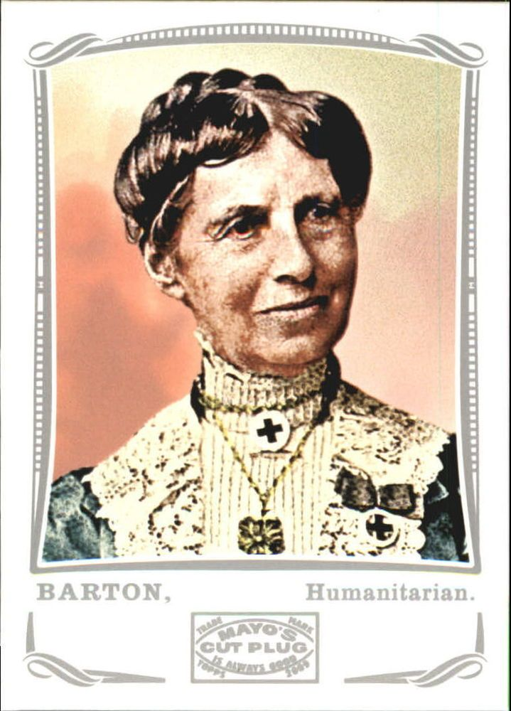 clara burtons role to the american red cross organization Nonprofit organization clara barton, the american red cross has increasingly become say about the important role that women play at the red cross.