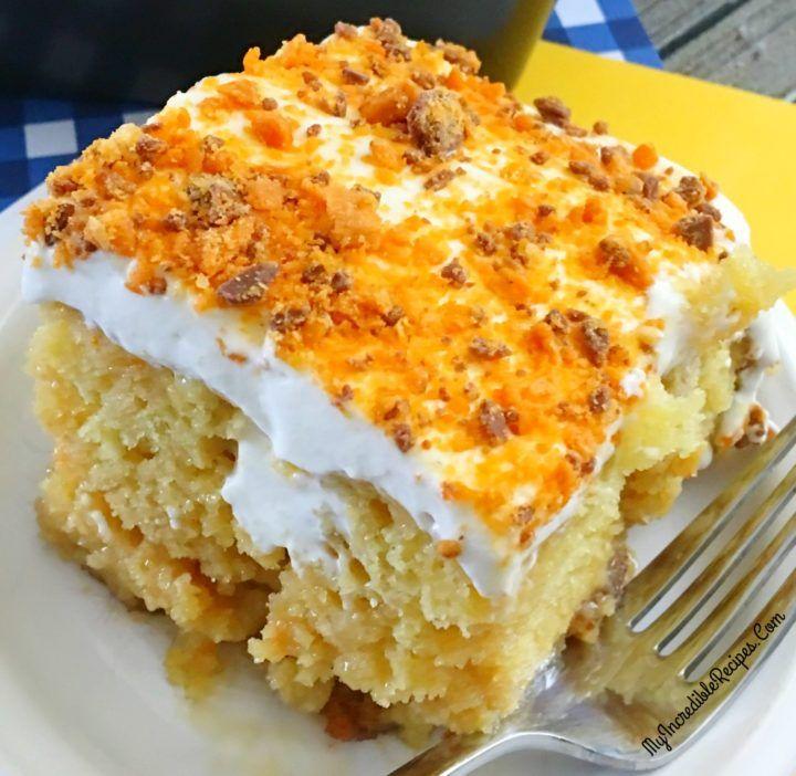 Butterfinger Ecstasy Cake!
