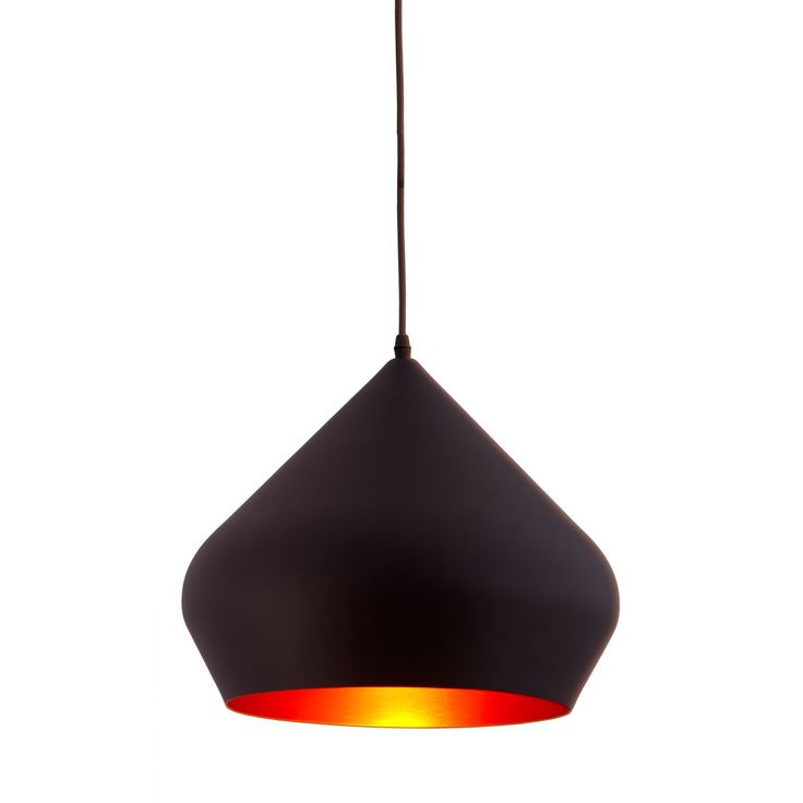 Add visual interest that shines (literally) to any room with this sleek, vivacious ceiling fixture. With its chic contours and smooth black finish, this royal pendant light adds a touch of modern sophistication to any decor without distracting.