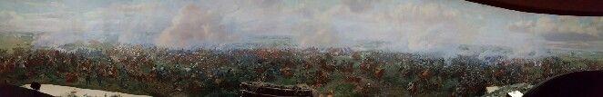 Battle of Waterloo panorama