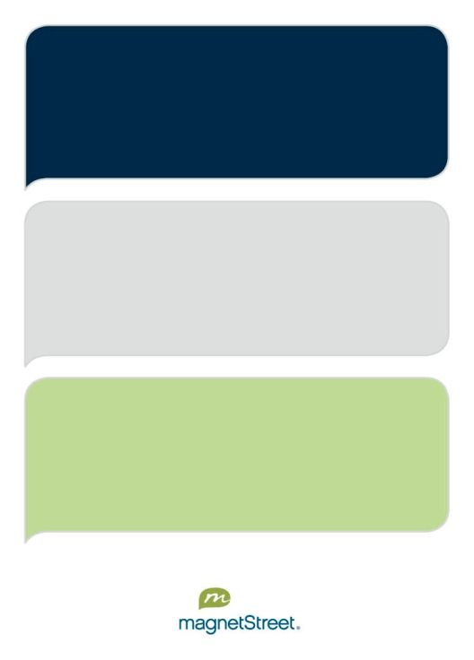 Navy, Silver, and Celery Wedding Color Palette - custom color palette created at MagnetStreet.com