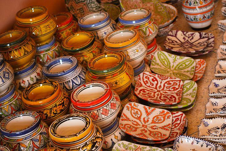 Marockos keramik i fiskarbyn safi 2014'