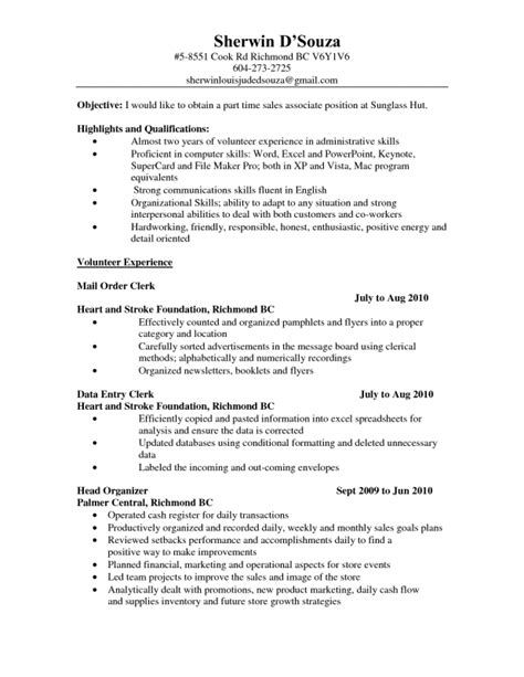 Sample Resumes For Mechanical Engineers \u2013 Civil Engineering CV