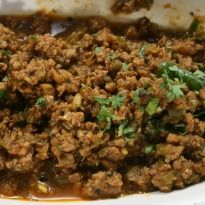 Dhabha da Keema: Mince #mutton cooked dhaba style with tomatoes, onions and lots of masalas.