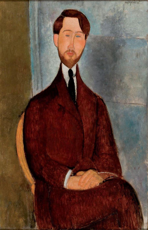 Amadeo Modigliani - Portrait of Leopold Zborowski (1917)