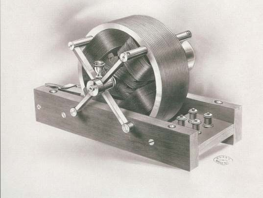 One of the original Tesla Electric Motors from 1888 which is today the main power of for industry and household appliances.  Tesla's Electric Motor is one of the ten greatest inventions of all times.