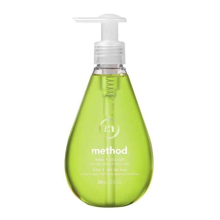Method Gel Hand Soap Lime + Sea Salt - 12oz