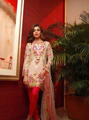 LATEST FASHION: Mina Hassan Eid Dresses For Women 2017