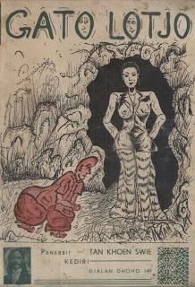 TOKOHITAM: Gatolotjo, dihimpun oleh R.M Suwandi, penerbit Tan Khoen Swie, 1954, 43 hal