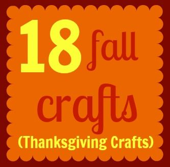 Thanksgiving Crafts {fall crafts}