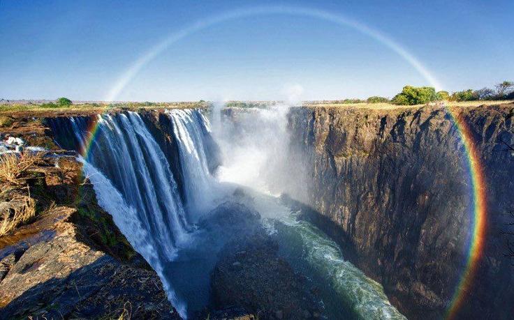 Victoria Falls - #Zambia / #Zimbabwe