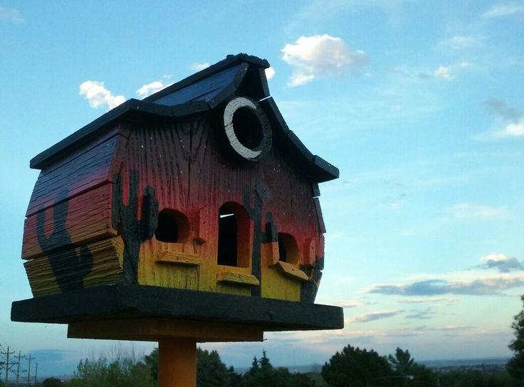 Southwestern birdhouse