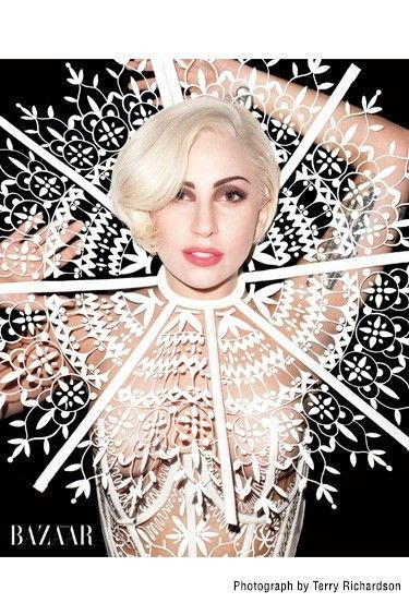 Lady Gaga Worn Carolina Herrera Custom Designed Dress Headpiece | eBay