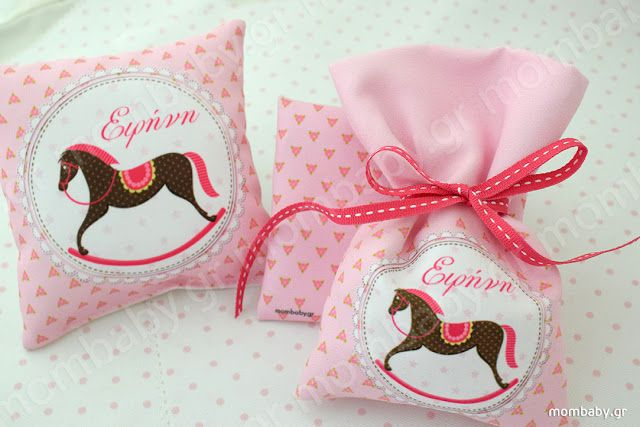 Mombaby | Personalised Christening Favours & Gifts: Μπομπονιέρα βάπτισης Αλογατάκι καρουζέλ