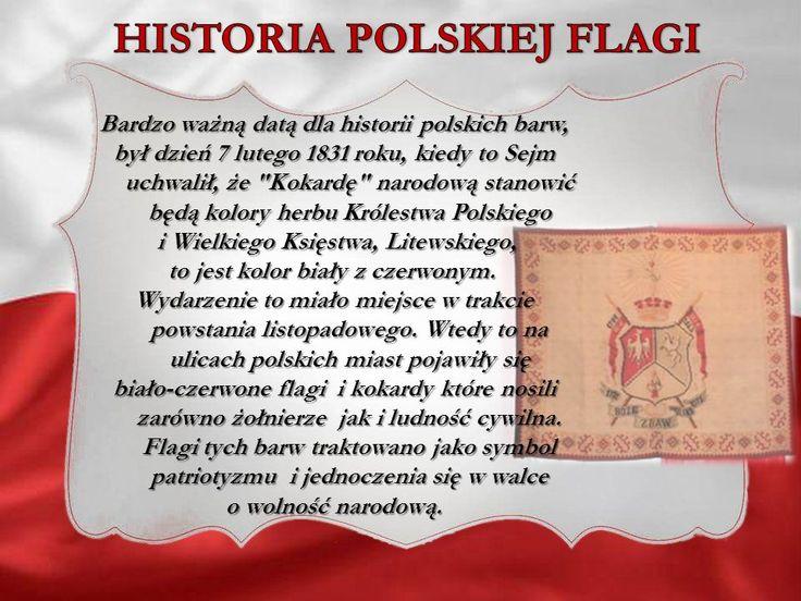 Znalezione obrazy dla zapytania polska flaga znaczenie barw