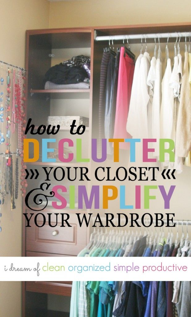 Need To Declutter Your Closet? Hereu0027s A Quick And Easy Way To Make  Decisions.
