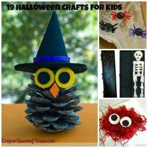 19 fun and easy halloween crafts for kids - Easy Kids Halloween Crafts Ideas