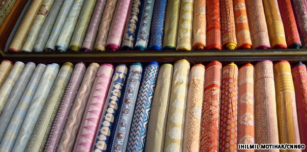 Best Sari shops in Mumbai.
