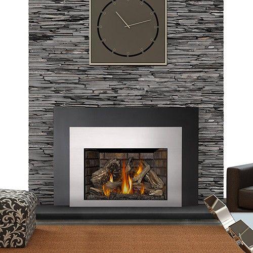 Napoleon Fireplace Gas Inserts from Hearth Manor. Complete Fireplace Design, Installation, GTA, Mississauga, Burlington, Oakville