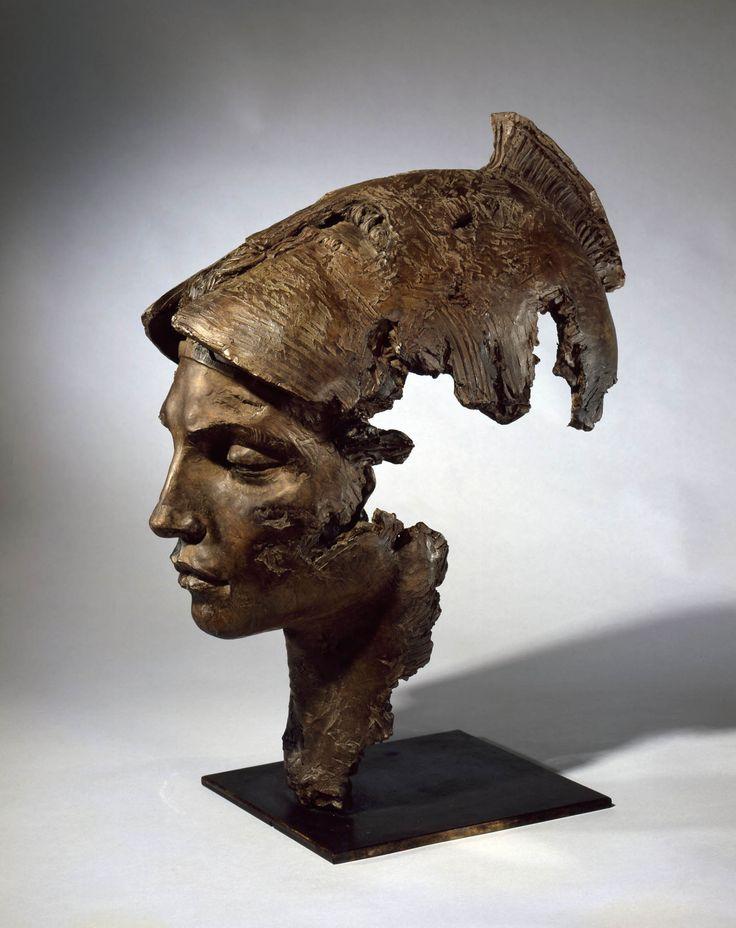 """Athéna"""", Christophe Charbonnel, bronze, 65 x 26 x 52 cm"""