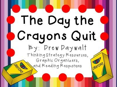 KidsForever from The Day the Crayons Quit by Drew Daywalt: A Complete Literature Study! on TeachersNotebook.com - (52 pages) - Everything you need for a literature study on The Day the Crayons Quit by Drew Daywalt! There are many ways that you can use these resources.