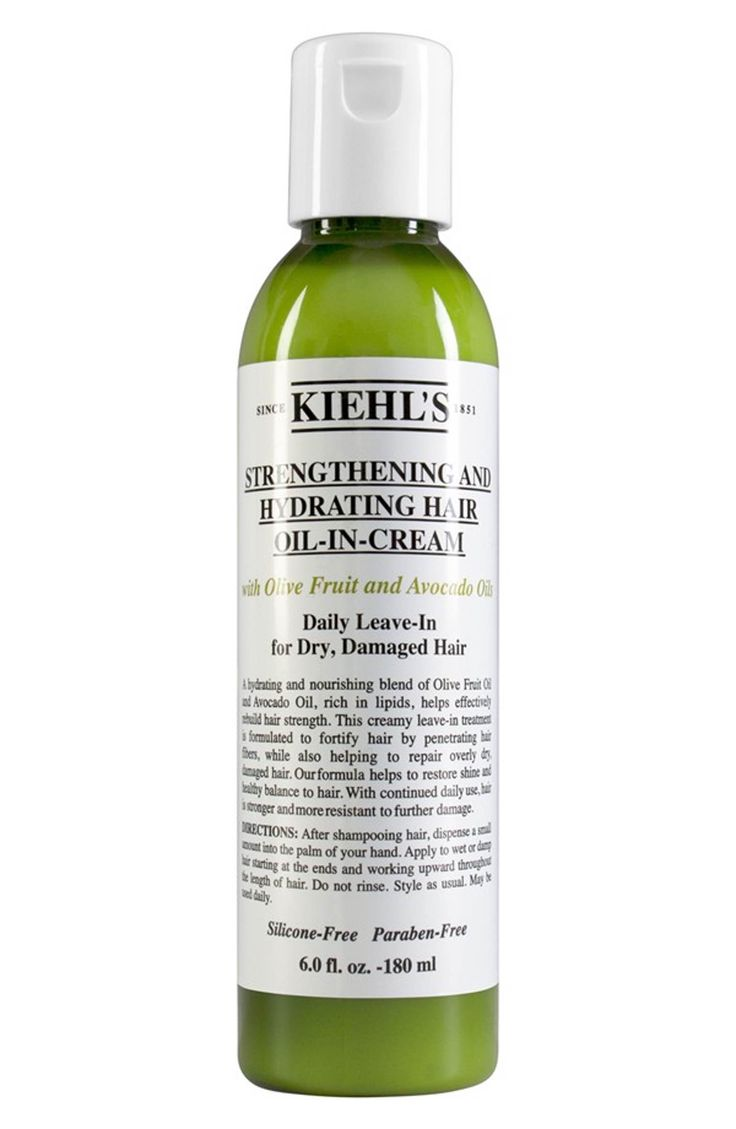 Main Image - Kiehl's Since 1851 Olive Fruit Oil Strengthening and Hydrating Hair Oil-In-Cream