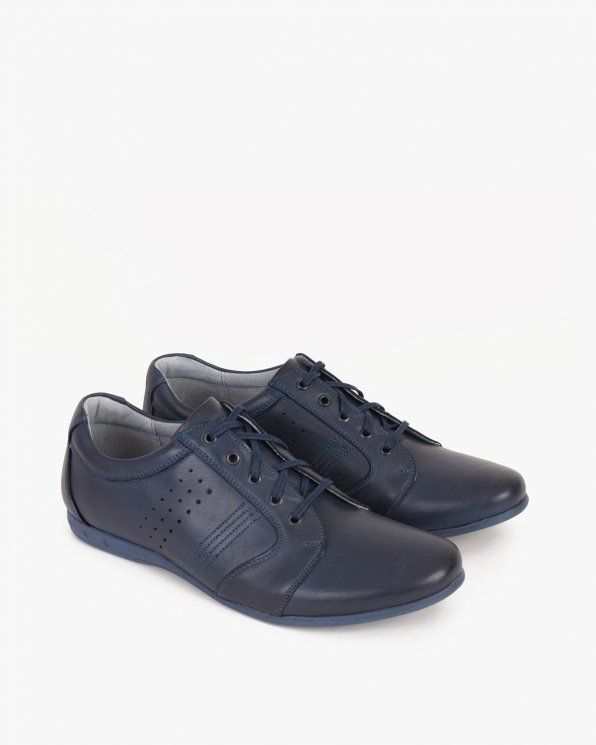 Polbuty 071 238 Gra Lic All Black Sneakers Shoes Sneakers
