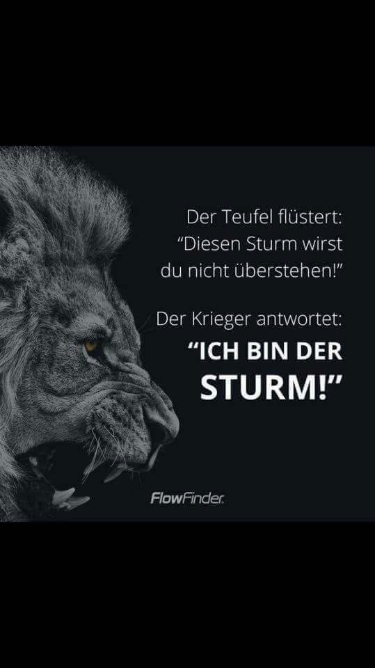 Ich bin der Sturm!!