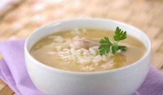 Receta Sopa de Arroz con Pollo Puerto Rico