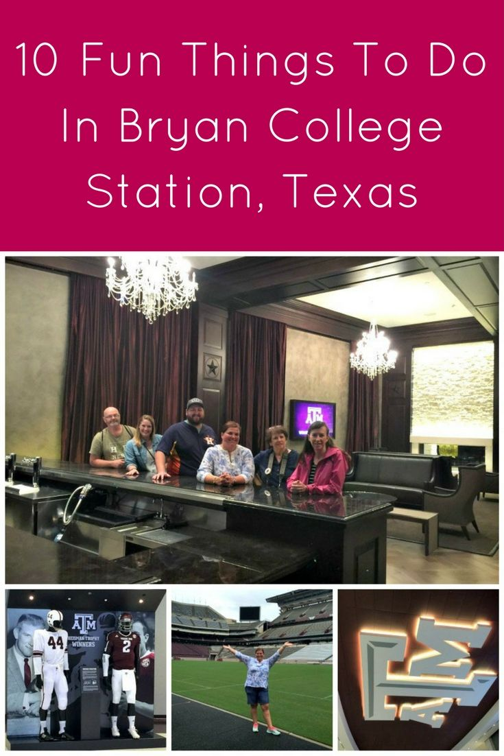 Bryan/College Station, Texas is an awesome college town to explore. I found several noteworthy things there including the food, touring a pecan farm, grape picking and smashing, visiting a presidential library, and stepping onto Kyle Field. Did you know Bryan/College Station had this wealth of options?