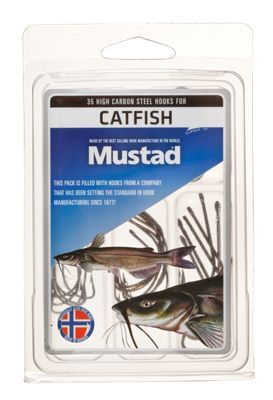 Mustad Catfish Hook 35-Piece Assortment