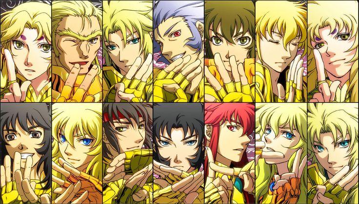Saint Seiya - Gold Saints Manga Version