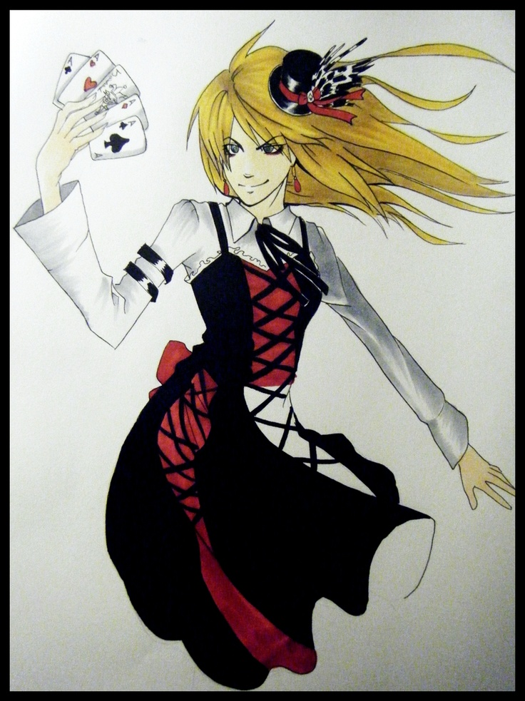 Anime Harley Quinn