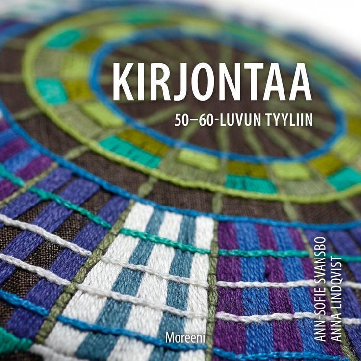 Kirjontaa 50- ja 60-luvun tyyliin /  Ann-Sofie Svansbo, Anna Lindqvist