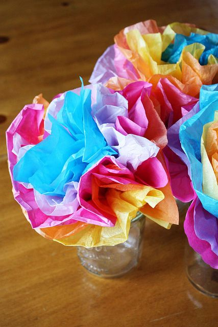 how to make mexican paper flowers out of tissue paper Making giant tissue paper flowers is a great craft idea  how to make flowers out of tissue paper  giant mexican tissue paper flowers.