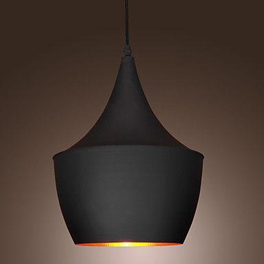 60w 1 lys vedhæng i sort skygge – DKK kr. 364