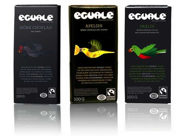 Eguale Chocolate Packaging Delivers Dessert by Wing #chocolate #packaging trendhunter.com