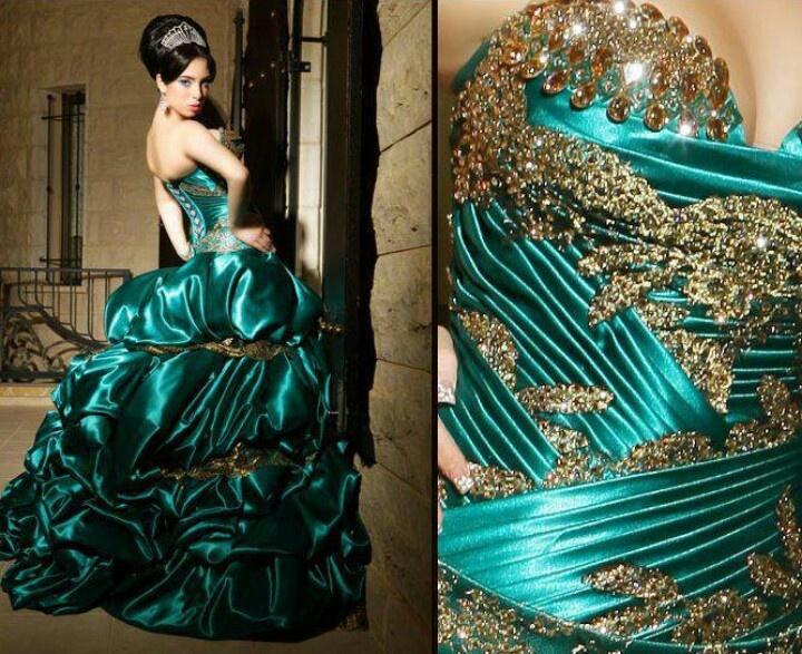 Dresses Ball Elegant Turquiiuse