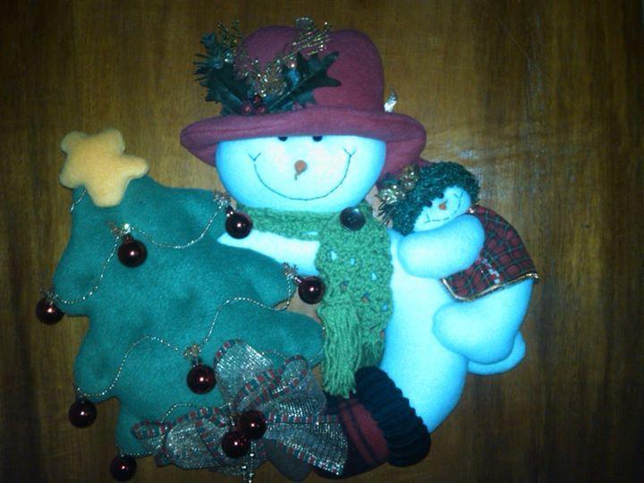 A la venta muñecos de navidad
