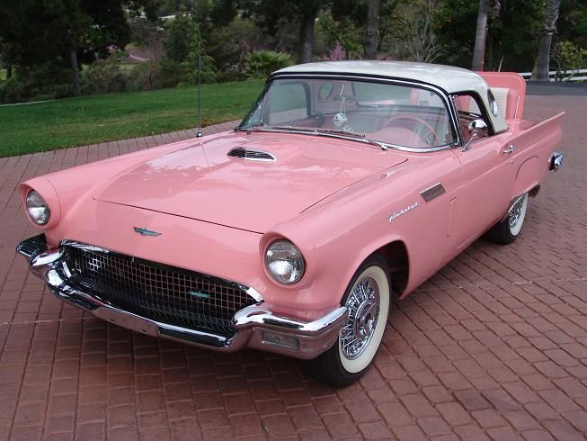 1957 Thunderbird With Rumble Seat T Birds Pinterest Ford Clic Cars And