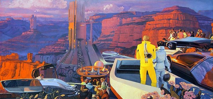 By Sydney Jay Mead (Syd Mead)