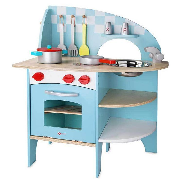 Buy Classic World Deluxe Blue Toy Kitchen Online at Toy Universe