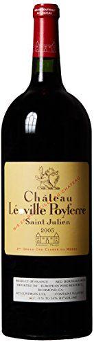 2005 Chateau Leoville Poyferre Saint-Julien Bordeaux 1.5 L ** Want additional info? Click on the image.