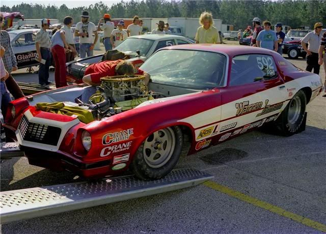 Drag Racing Pro Stock Cars : Vintage superstock and pro stock camaro pics page