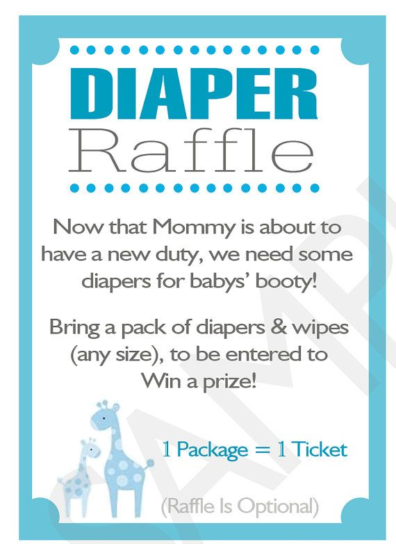 T H I S • L I S T I N G    Safari Baby Shower Diaper Raffle Invitation Inserts!  These one-of-a-kind Raffle Card Inserts will be an awesome addition