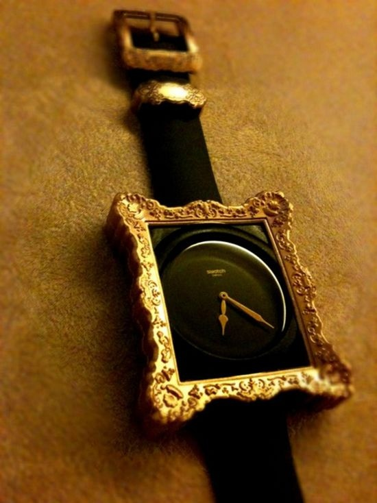 Gold Framed Watch just what every Sophisticated ARTIST should have!