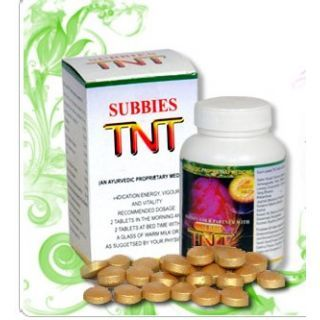 Use Subbies TNT to overcome erectile dysfunction, premature ejaculation, improve the hardness, improve the sperm count and motility and improve the discharge quantity.