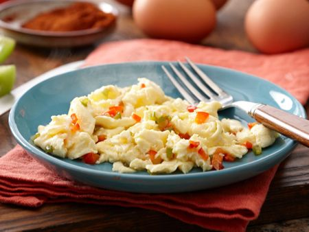 Southwest Style Eggs with egg whites